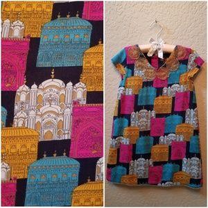 4T Palace Print Tunic Dress Aladdin